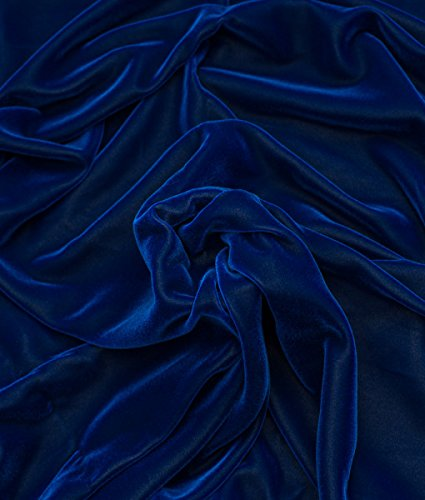 (WAVERLY 0347188 Imperial Dress/Twill Blue Fabric by The Yard,)