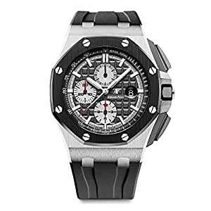 Audemars piguet ap royal oak offshore novelty 44mm titanium watch ceramic bezel for Royal oak offshore ceramic