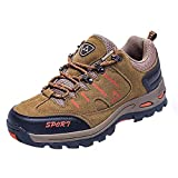 Women Shoes,Clearance Sale!!Farjing Men and Women Outdoor Casual Lace-up Comfortable Running Mountaineering Shoes(US:7,Khaki )