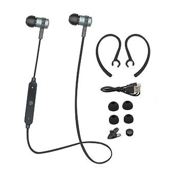 Ouneed®: auriculares inalámbricos estéreo Bluetooth, verde, 1