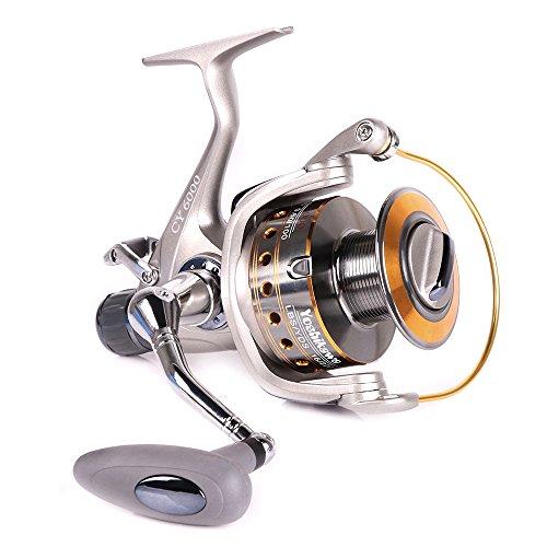 Yoshikawa Baitfeeder Spinning Reel Saltwater Freshwater Fishing 5.5:1 11 High Power Stainless Ball...
