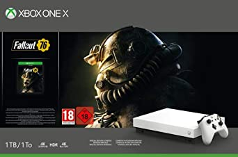 Xbox One X - Consola 1 TB, Edición Fallout 76 , Blanco + Call of ...
