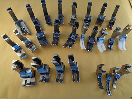 NGOSEW 25 Presser Foot Set Works with JUKI Industrial Sewing Machine by NgoSew