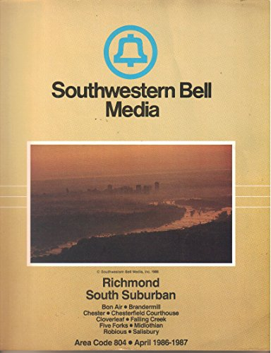 (Richmond Virginia South Suburban, Telephone Directory, Area Code 804, April 1986-1987)