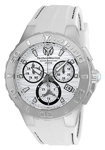TechnoMarine Cruise Medusa Chronograph White Dial Mens Watch ()