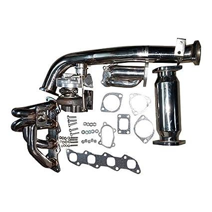 Amazon.com: XS-Power DISCO POTATO T28 Turbo Kit s13, s14 FITS Nissan 240sx ka24de-t: Automotive