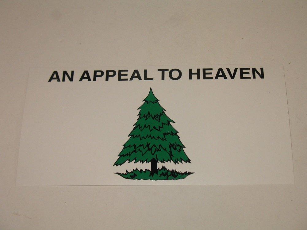 Washington Cruisers An Appeal to Heaven Liberty Tree Decal Bumper Sticker