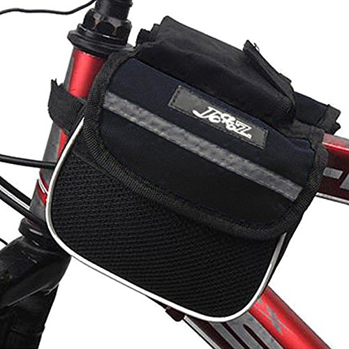 Fahrra Sattel Beutel - JSZ Radfahren Fahrrad Rahmen Pannier Sattel Frontseiten Schlauch Beutel Doppelte Seiten Aussen Reisen