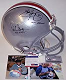 Archie Griffin / Eddie George - Official Full Size Riddell Authentic Proline Football Helmet - Ohio State - PSA/DNA