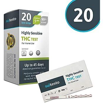 Amazon com: UTest-O-Meter 5 Level THC Marijuana Drug Test
