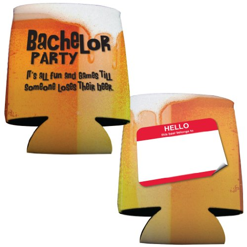 Bachelor Party Drink Can Cooler