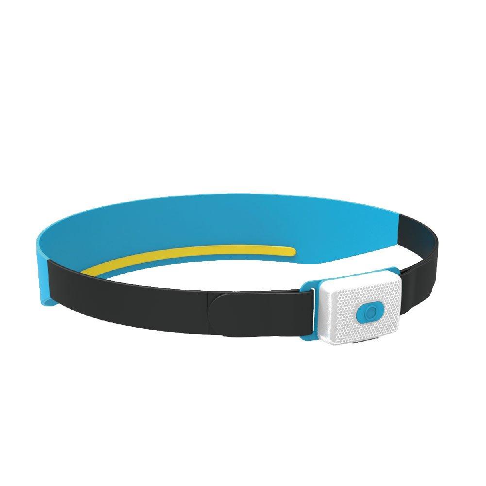 Zehui Warning Lamp USB Charging Night Running Stylish Sports Sweatband Safety Headlight Blue