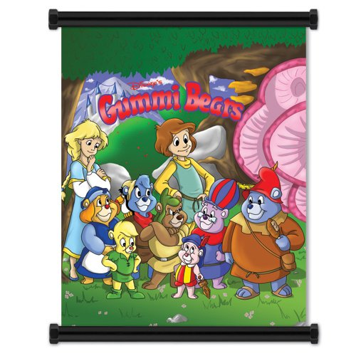 (Gummi Bears Group Wall Scroll Poster 32 x 42 inches (Fabric Cloth))