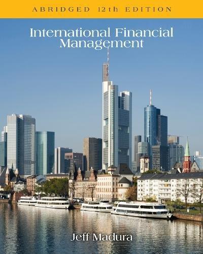 1305117220 - International Financial Management, Abridged