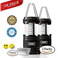 Sparlight Portable Outdoor LED Camping Lantern (3 AA...