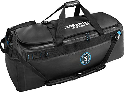 ScubaPro Scuba Diving Dry Bag for full gear setup (120 L) w/ Swivel Clip