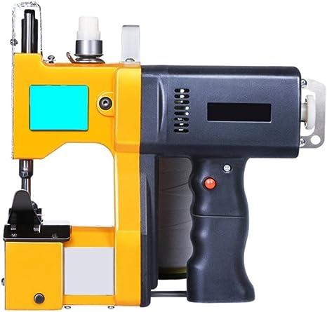 PP portátil máquina de coser máquina de sellado eléctrico cierre ...