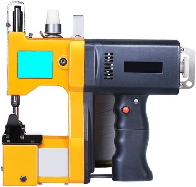 PP portátil máquina de coser máquina de sellado eléctrico cierre de punto bolsa máquina de coser embalaje Stitcher Closer 220 V o 110 V: Amazon.es: Juguetes y juegos