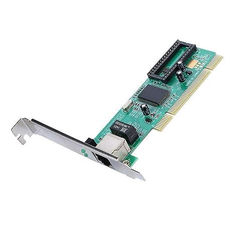 REFURBISHHOUSE 10/100 / 1000M Gigabit Ethernet LAN Red Pci ...