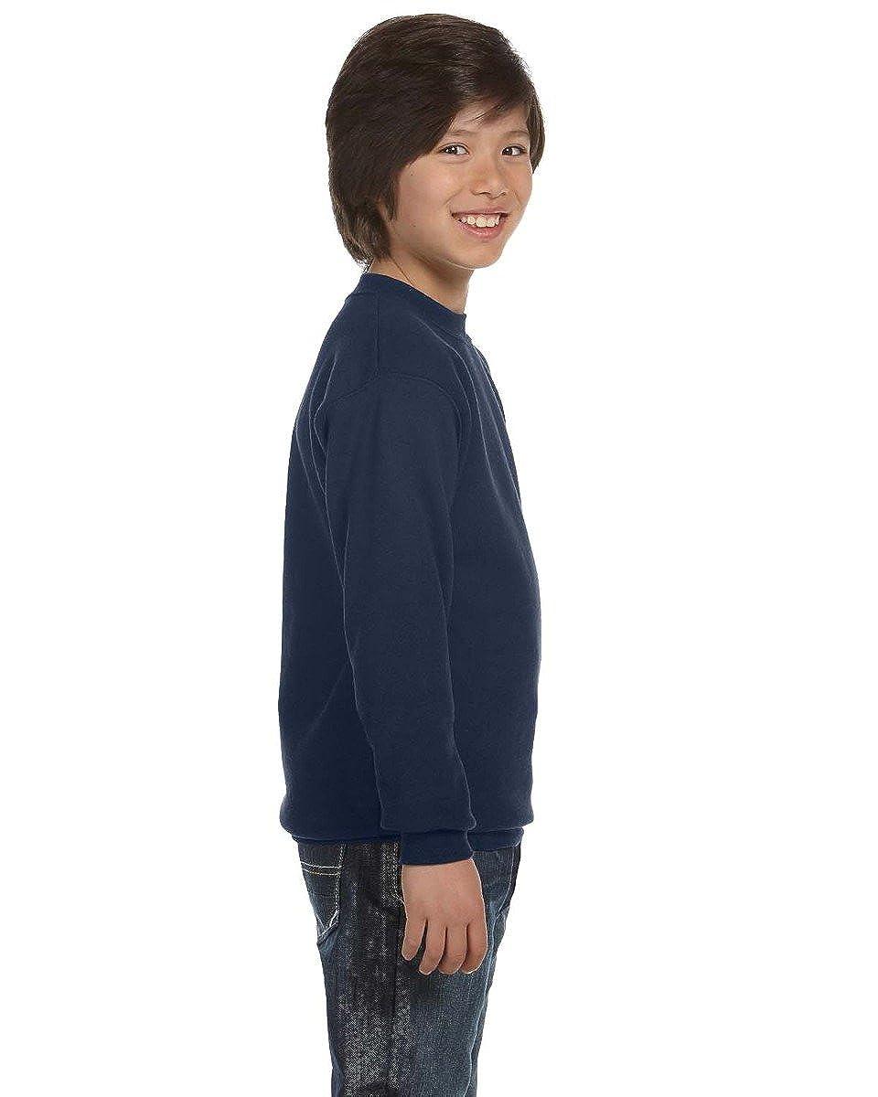 Champion Boys Boys Big Powerblend Eco Fleece Sweatshirt Duofold Men/'s Sleepwear Layering /& Thermals S690