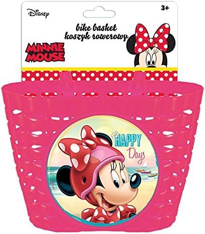 Disney Minnie Mouse Cesta para Bicicleta, Niñas, Multicolor, Small ...