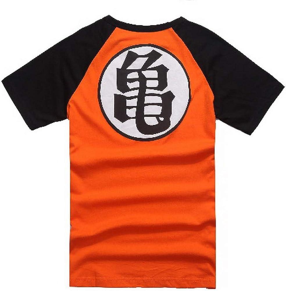 Generico T-Shirt Maglietta Maniche Corte Dragonball Goku Kame Vegeta Super Sayan