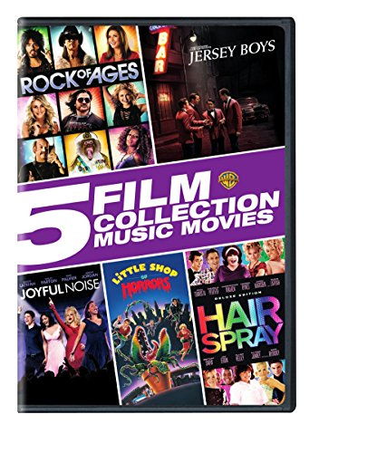 5 Film Collection: Music Movies (Rock of Ages / Jersey Boys / Joyful Noise / Little Shop of Horrors / (Boys Shop)