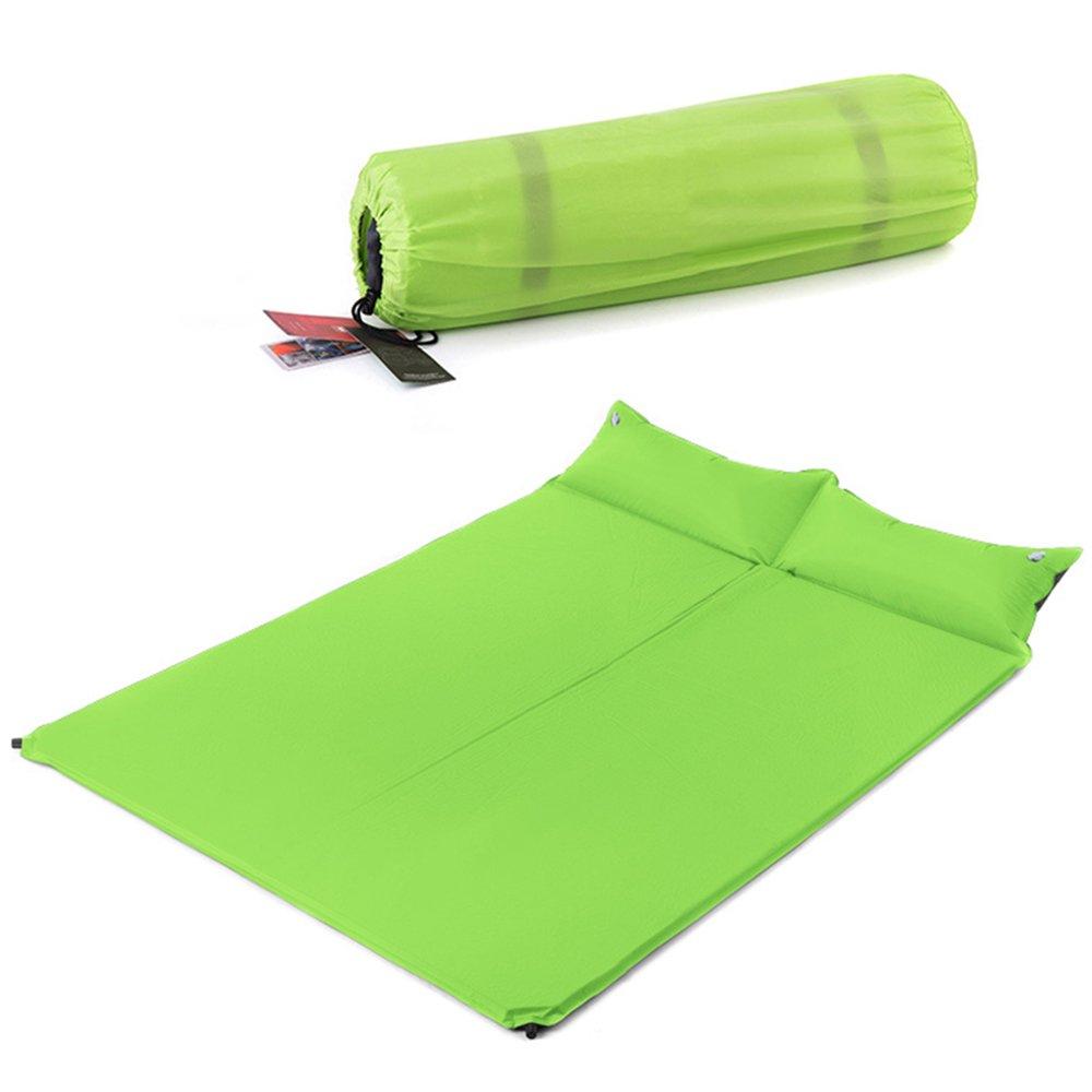 HPLL Aufblasbares Bett-im Freien doppeltes aufblasbares Bett-automatisches aufblasbares Bett mit Kissen-Zelt-Schlafenauflage-kampierendem feuchtigkeitsfestem aufblasbarem Bett