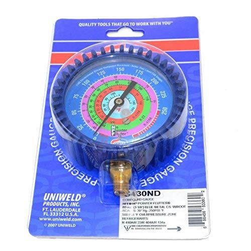 MANIFOLD GAUGE LOW UNIWELD R410/R22/R404/R134 G430ND