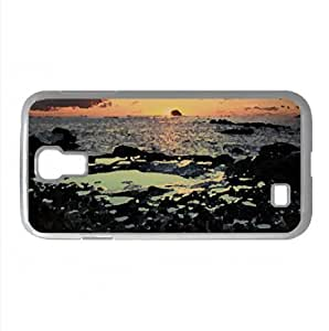 Boulder Full Of Holes Watercolor style Cover Samsung Galaxy S4 I9500 Case (Beach Watercolor style Cover Samsung Galaxy S4 I9500 Case)