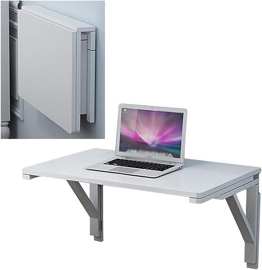 Maxibird Mesa de escritorio para montar en la pared, plegable ...