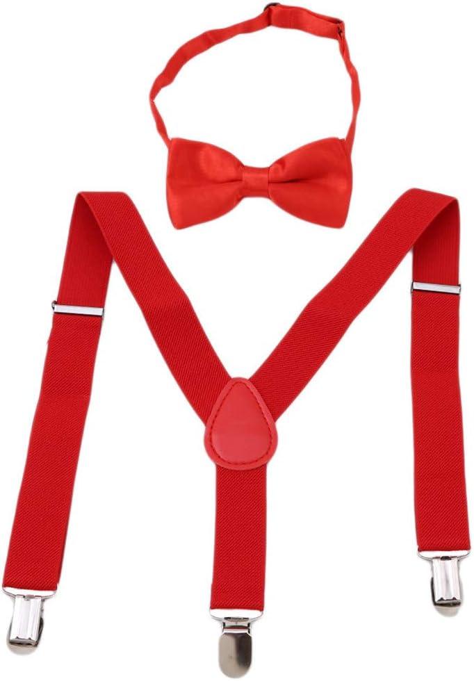 Y-Back Clip-on Suspender Adjustable for Baby Toddler Kid Boys Girls Children
