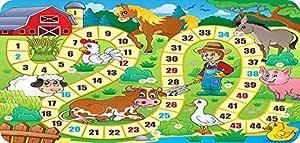 Alfombra infantile (PVC, juegos de tablero juegos de la ...