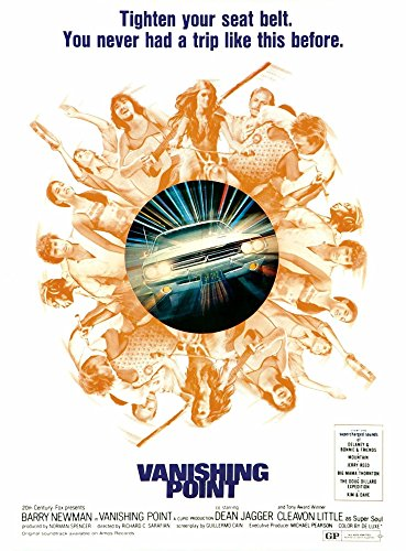 (Vanishing Point Us Poster Art 1971 ?20Th Century Fox Tm & Copyright Courtesy Everett Collection Movie Poster Masterprint (24 x)