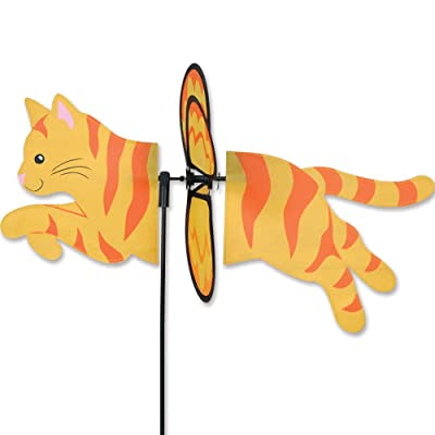 Premier Kites Orange Cat Garden Wind Spinners: Garden & Outdoor