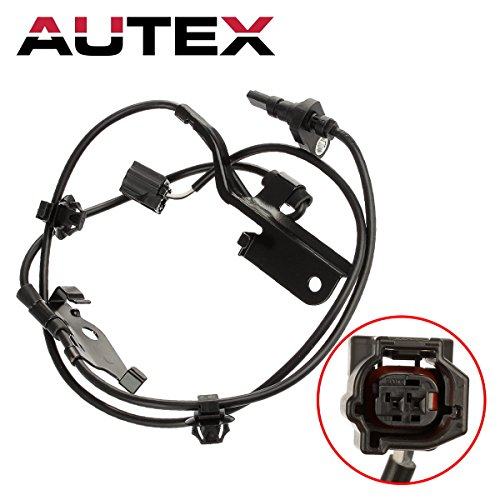 AUTEX 1pc ABS Wheel Speed Sensor Front Right 89542-42050 ALS2319 5S8671 SU10133 compatible with Toyota RAV4 2006 2007 2008 2009 2010 2011 2012 2013 2014 2015 2016 2017 2018