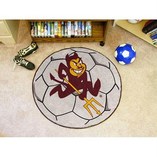 Fanmats Arizona State Sun Devils Soccer Ball-Shaped Mats ()