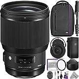 Sigma 85mm f/1.4 DG HSM Art Lens for NIKON F Cameras w/Sigma USB Dock & Advanced Photo and Travel Bundle