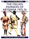 The Italian Invasion of Abyssinia 1935-36, David Nicolle, 1855326922