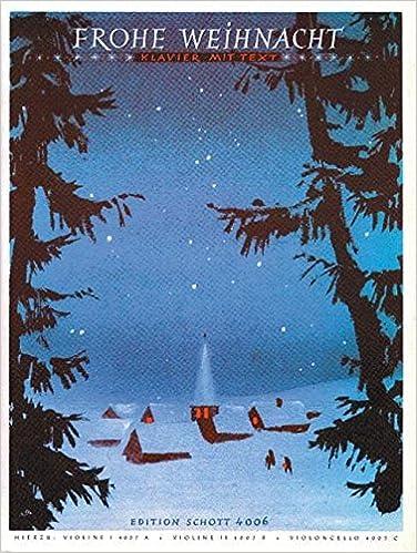 Weihnachtslieder Texte Sammlung.Frohe Weihnacht Eine Sammlung Von 40 Der Bekanntesten