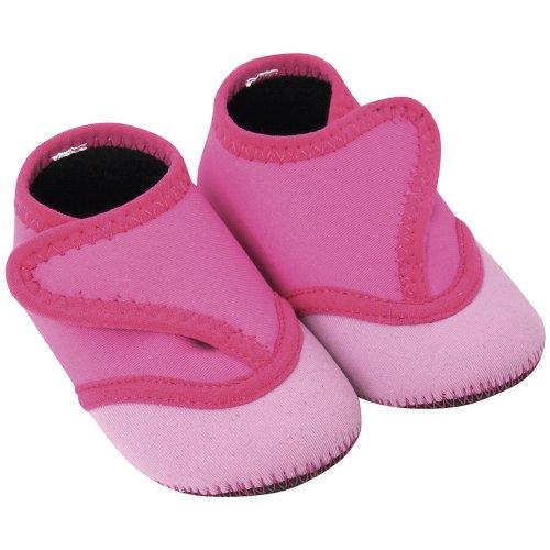 JoJo Maman Bébé D2289PIN06 - zapatos de playa de bebé, color: rosa