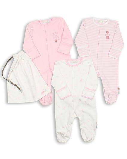 The Essential One - Pijama para bebé - Paquete de 3-0-3 meses