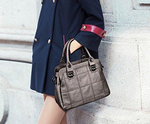 Femme en Main Cuir bandoulière Sac Sac Unique à Messenger Shopping gold Mode la à à SHOUTIBAO Work Couture à Main Sac Sac ItxwXX