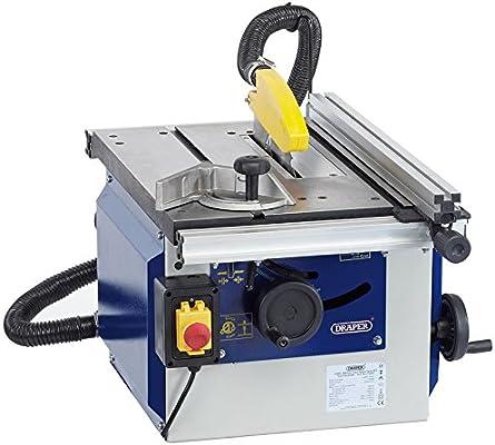 Draper 82108 200 mm 1100 W 230 V hierro fundido sierra de mesa ...