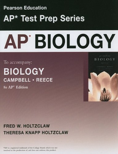Preparing for the Biology AP Exam, Biology (School Edition) (3rd Edition)