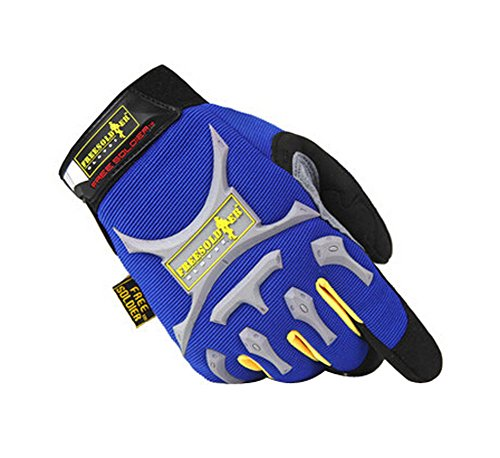 PANDA SUPERSTORE Cool Outdoor Sport Hunting Camping Climbing Gloves Blue, L