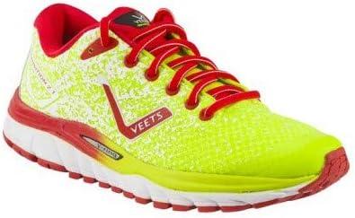 VEETS - Zapatillas de Running para Hombre Transition 2.1 Amarillo, Rojo y Blanco PE 2019, Amarillo, 46: Amazon.es: Deportes y aire libre