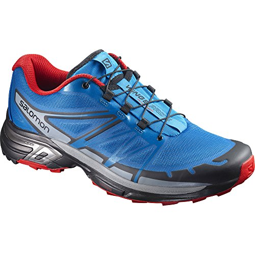 Salomon Herren Wings Pro 2 Laufschuhe, blau, 49.3 EU Blue