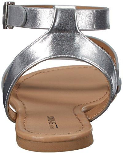 Noem Het Lente Dames Agroerwen Gladiator Sandaal Metalen Diversen