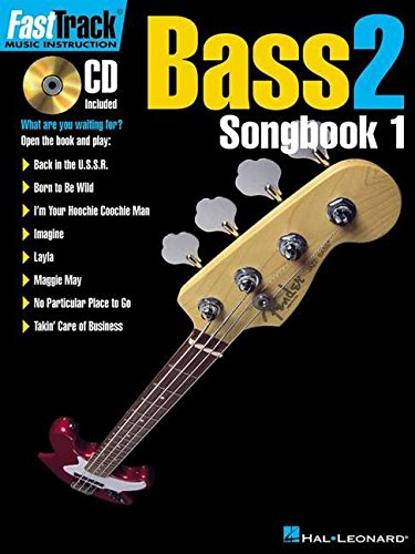 OOK 1    LEVEL 2 BK/CD (FastTrack Music Instruction) (Bass 1 Songbook)
